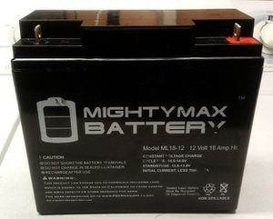 Battery 12v 18Ah AGM for Sale in Los Angeles, CA