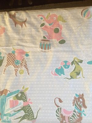 Vintage Baby Crib Sheets - Perfect for Nursery Curtains for Sale in Pittsburgh, PA
