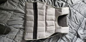 Weighted vest 40lbs for Sale in Bolingbrook, IL
