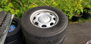 2011 F150 stock rims and used tires for Sale in Bonney Lake, WA