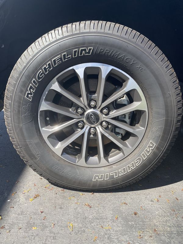 F150 OEM Wheels and Tires 18""