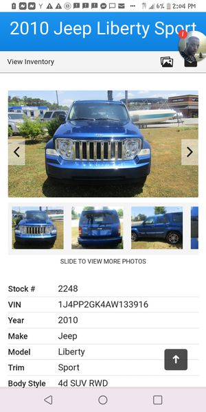 2010 jeep liberty only 133k $ 6695 great deal for Sale in Cumming, GA