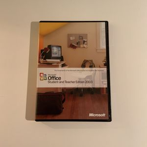 Microsoft Office 2003 Student And Teacher Edition for Sale in Escondido, CA