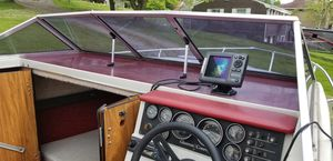 1986 19 1/2 foot glasstron cuddy boat.. for Sale in Allison Park, PA