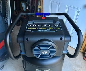 KOBALT PORTABLE ELECTRIC VERTICAL AIR COMPRESSOR for Sale in Dallas, TX