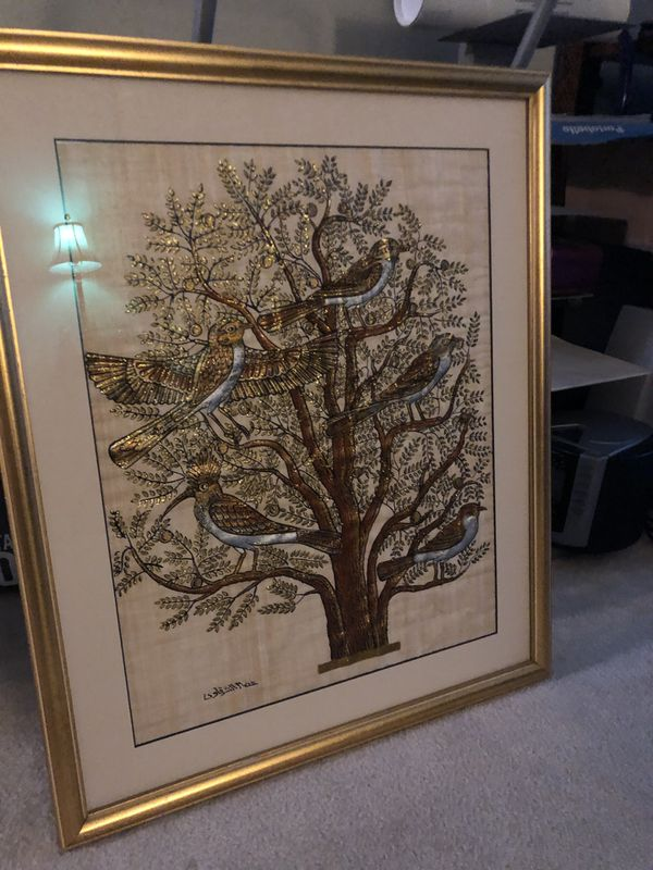 Lovely framed Tree of Life print