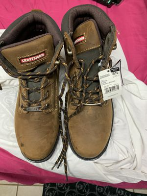craftsman workboots size 9 1/2 for Sale in Riverdale, MD