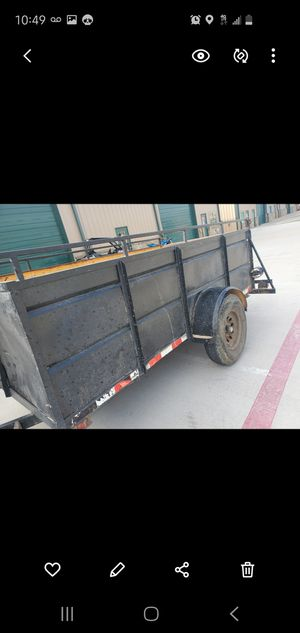12ft trailer for Sale in Little Elm, TX