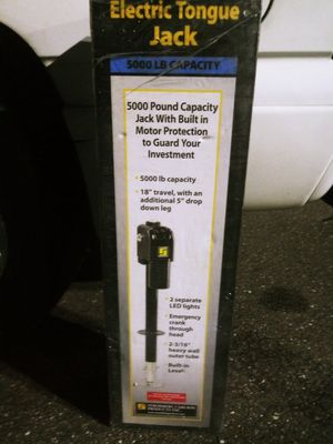 Brand new electric tongue jack, for Sale in Brandon, FL