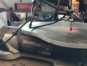 """Craftsman 16"""" Variable Speed Scroll Saw for Sale in Deer Park, WA"""