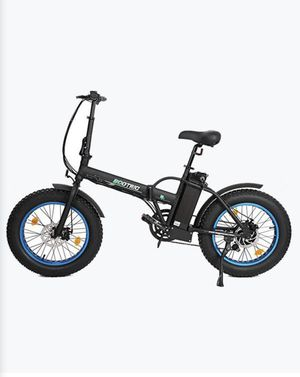 Fat Tire Portable and Folding Electric Bike-Black for Sale in Vallejo, CA