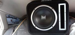 """Dual 10"""" subwoofer for Sale in Albuquerque, NM"""
