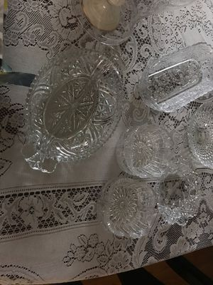 Antique pressed glass for Sale in Port St. Lucie, FL