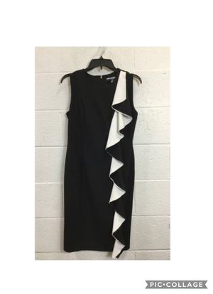 Karl Lagerfeld Black and White Dress Size 6 for Sale in Purcellville, VA