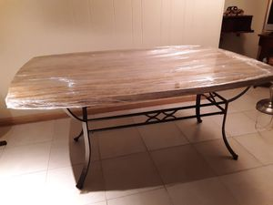 Table wood 5ft. 1/2 X 46 wide by 29 Tall for Sale in SOUTH SUBURBN, IL