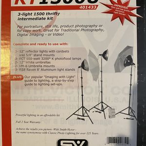 Smith Victor Studio Lighting for Sale in Long Beach, CA