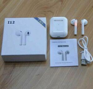 3x I12 airpod style wireless j headphones earphones for Sale in Brooklyn, NY