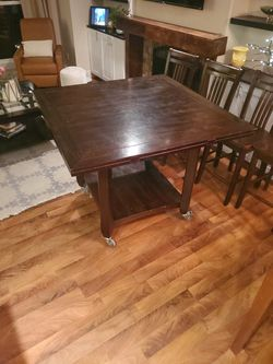 Tall Kitchen Table With 8 Chairs for Sale in Kirkland,  WA