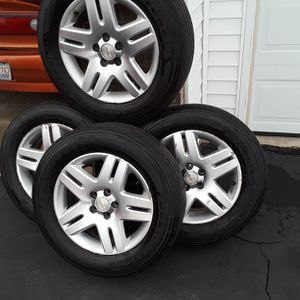Rims and Tires 225/65R17 Chevy impala and Chevy Monte Carlo GB for Sale in Belvidere, IL