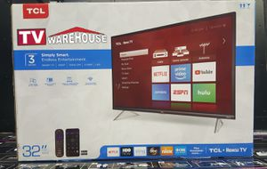 """32"""" TCL Roku Smart LED 1080p for Sale in Bell Gardens, CA"""