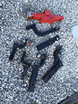 Tow hitches and scissor jack for Sale in Margate, FL