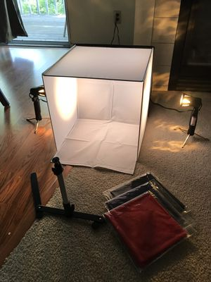 Portable Photography studio box kit for Sale in Sunnyvale, CA