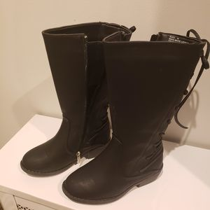 Girls Black Boots Size 12 for Sale in Andover, MA