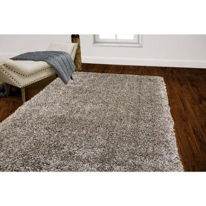 Amador Light Gray 5.2' x7.2' Shag Rug for Sale in Centreville, VA
