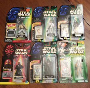 Star Wars lot of 21 figures plus 2 Cantina Showdown sets for Sale in Bothell, WA