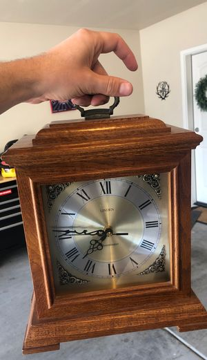 Linden Westminster Dual Chime Clock for Sale in Phoenix, AZ