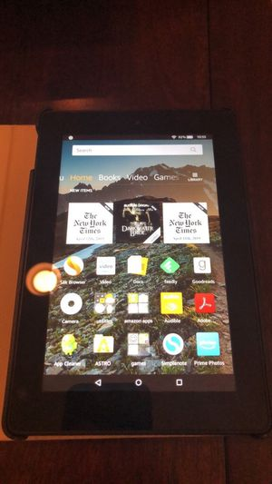 Kindle Fire HD7 (8GB) with case for Sale in Arlington, VA