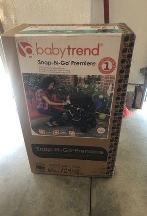Brand new baby trend universal infant car seat carrier for Sale in Romoland, CA