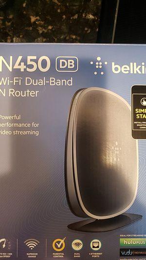 Belkin n450 router wireless for Sale in Orlando, FL