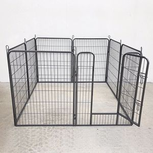 """(NEW) $110 Heavy Duty 40"""" Tall x 32"""" Wide x 8-Panel Pet Playpen Dog Crate Kennel Exercise Cage Fence Play Pen for Sale in Whittier, CA"""