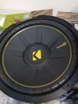 "12"" Kicker Comp C Speaker for Sale in Orem,  UT"