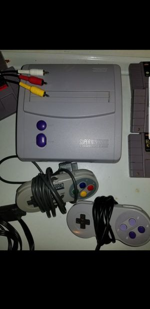 NEW STYLE SUPER NES NINTENDO for Sale in San Diego, CA