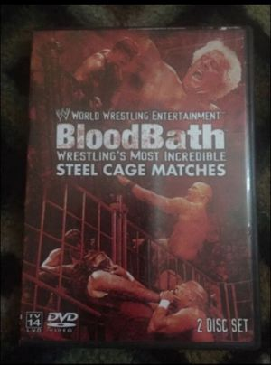 BloodBath - wrestling's most incredible steel cage matches - 2 discs for Sale in PA, US
