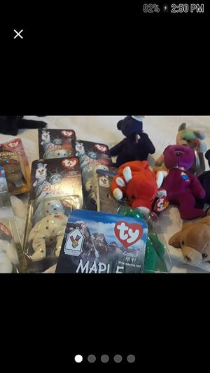Huge lot of beanie babies rare find for Sale in Riverview, FL