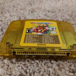 Nintendo 64 Game 15 NES Games + Mario Party 1,2,3 for Sale in Missouri City, TX