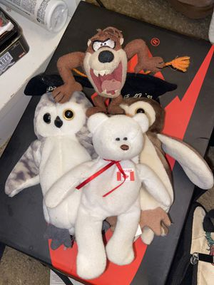 Stuffed animals beanie babies for Sale in Beaverton, OR