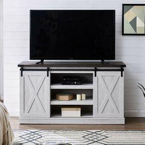 BellO Cottonwood Two-Tone 60 in. TV Stand for Sale in Chula Vista, CA