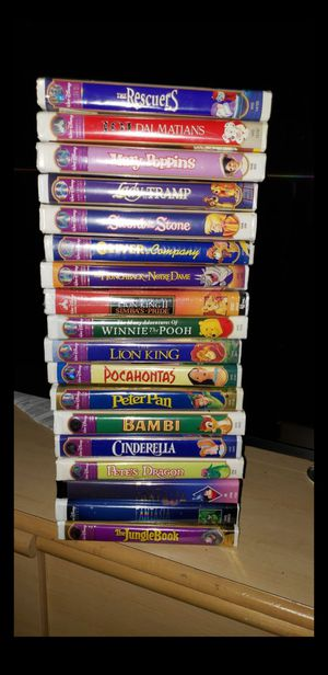 Disney VHS Collection for Sale in Austin, TX