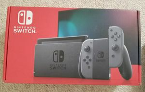 BRAND NEW Nintendo Switch newest version Gray Joy-Cons System for Sale in Denver, CO