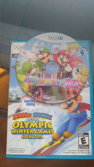 Mario Party 10 and Mario Olympics for Sale in Bakersfield, CA