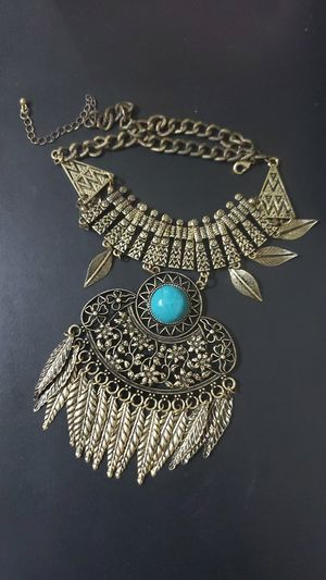 Egyptian Cleopetra Inspired Light Weight Necklace by Imrosia Vintage! for Sale in Overland Park, KS