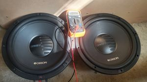 "Orion cobalt 12""s for Sale in Fresno, CA"