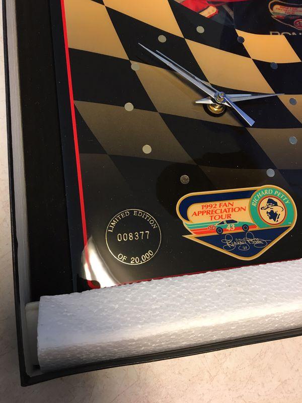 Richard Petty wall clock