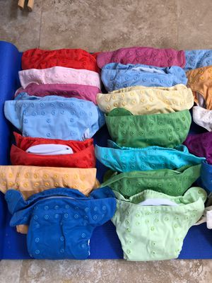 BumGenius All-in-One cloth diapers $10/each for Sale in Anaheim, CA