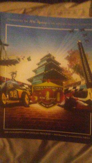 90th Indy 500 commemorative book for Sale in Dennison, IL