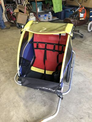 Burley d'lite double bike trailer for Sale in Snohomish, WA